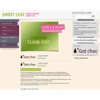 Sweet Leaf Free Website Template