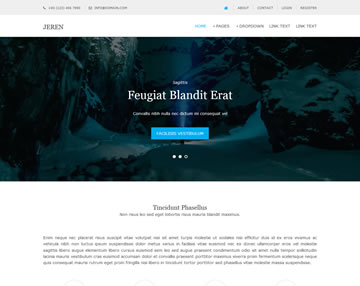 Jeren Free Website Template