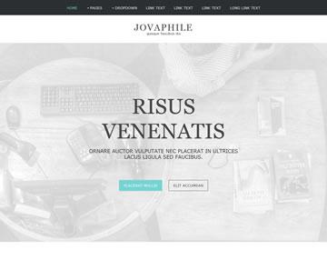 Jovaphile Free Website Template