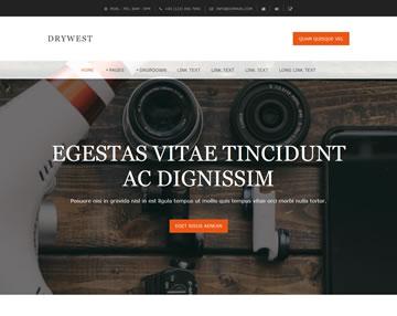 Drywest Free Website Template