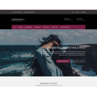 Interlingua Free Website Template