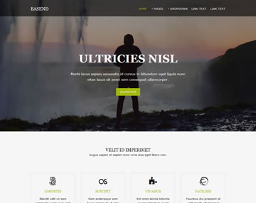 Basend Free Website Template