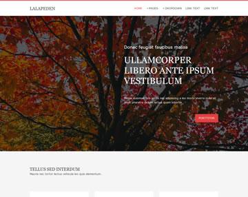 Lalapeden Free Website Template