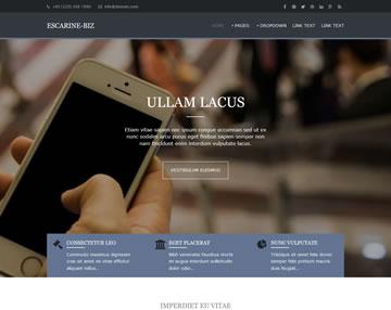 Escarine-Biz Free Website