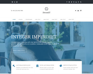 DreamIT Free Website