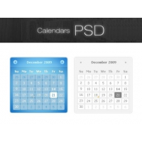 Calendars PSD Resource