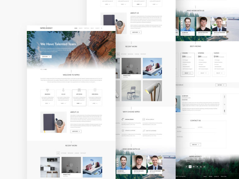 Corporate Agency Web Template