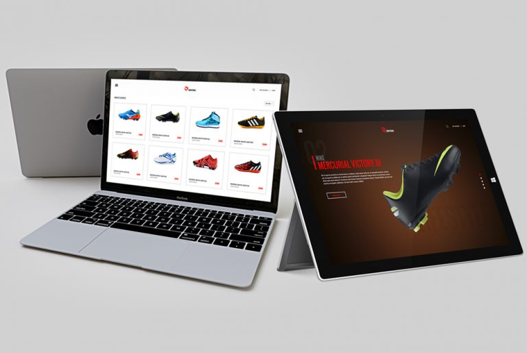 eCommerce Fashion Website Template Free