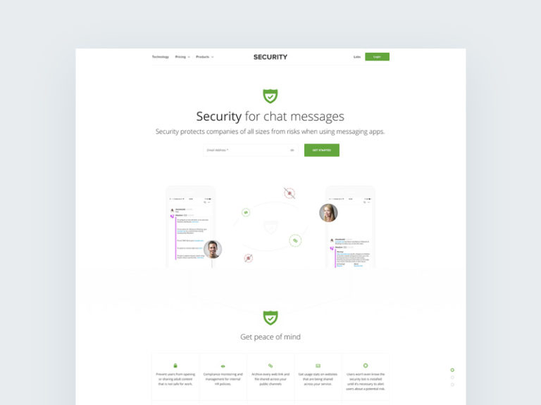 Security Services Website Template Free
