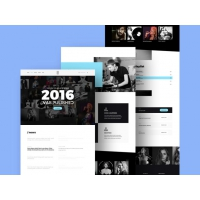 Music Studio Website Template Free