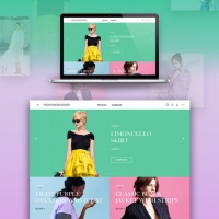 Fashion Store Website Template Free