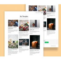 Clean Masonry Blog Template Free