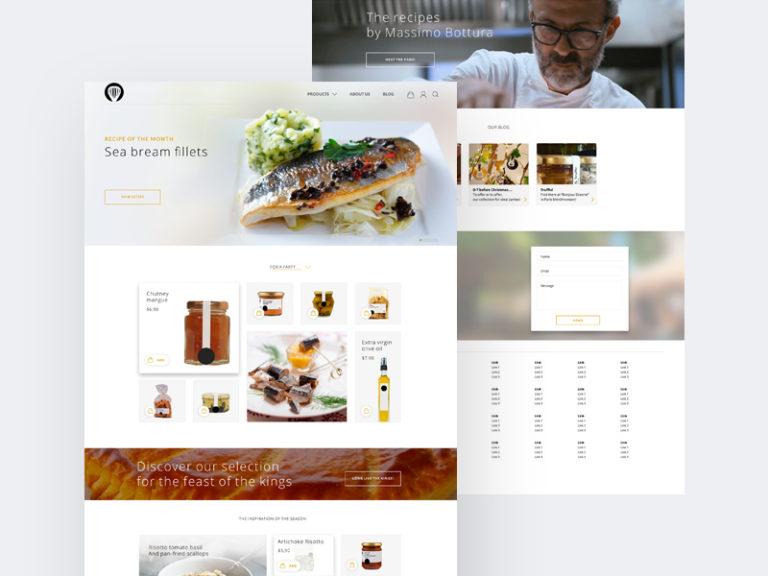 Clean Restaurant Website Template Free