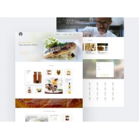 Clean Restaurant Website Template Free