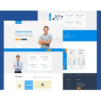Business Consulting Website Template Free