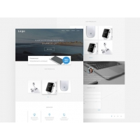 Simple Landing Page Template Free