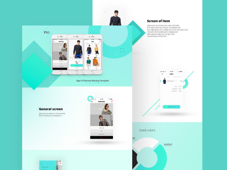 App Landing Page Template Free