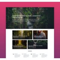 Agency Website Template Free
