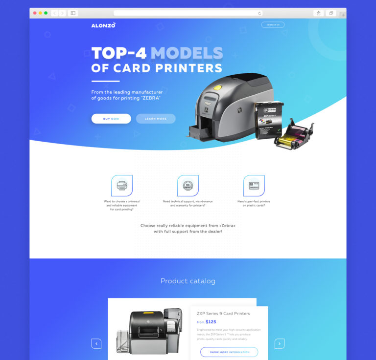 Product Landing Page Template Free