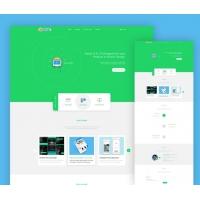 Company Portfolio Landing Page Template Free