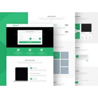Event Registration Landing Page Template