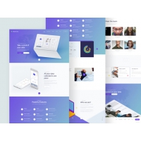 Data Analytics Services Website Template