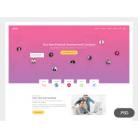 Single Page Creative Website Template