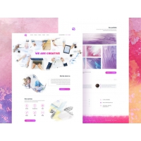 Creative Agency Website Template