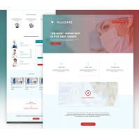 Medical Website Template Free