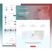 Medical Website Template Free