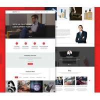 Creative Agency Website Landing Page