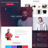 Personal Portfolio Website Template Free