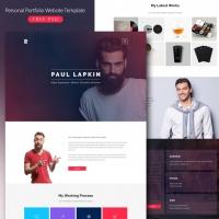 Personal Portfolio Website Template Free