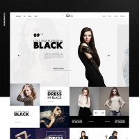 Elegant Fashion Store Website Template Free