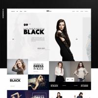 Elegant Fashion Store Website Template Free