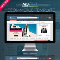 Mocart e-Commerce Website PSD Template