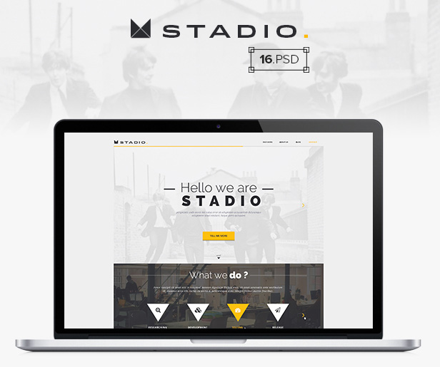 Creative Agency Website Multipurpose Template