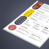 Creative Web Designer Developer Resume Template