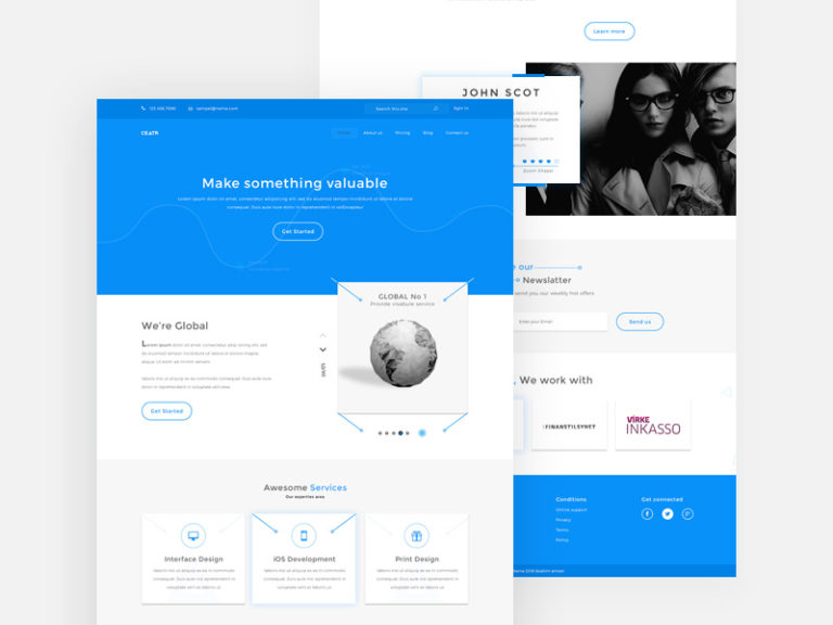 Agency Website Templates