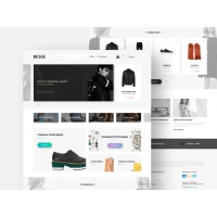 eCommerce Fashion Store Website Template