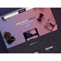 Creative Studio Free PSD Template