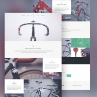 Product Showcase Website Template Free