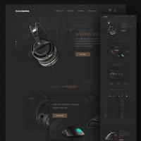 Computer Accessories Website Template Free