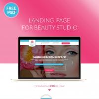 Beauty Salon Website Template Free