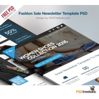 Fashion Sale Newsletter Free Template