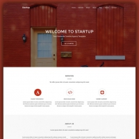 Creative Agency Website Homepage