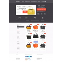 eCommerce Fashion Deal Website