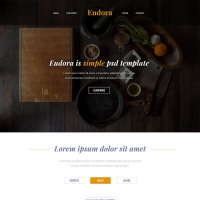 Modern Restaurant Website Free