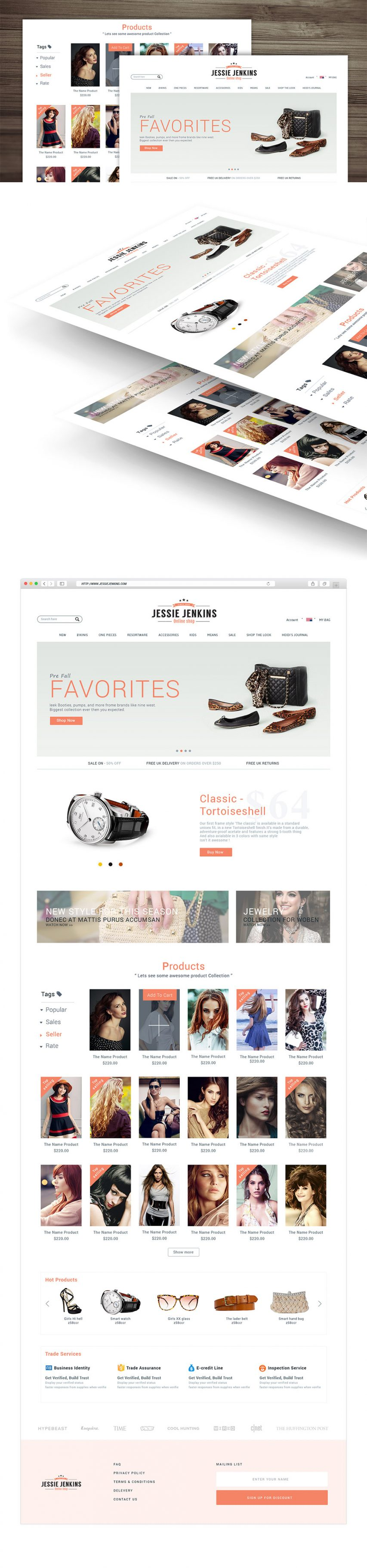 Modern Premium eCommerce Website