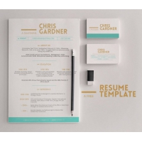 Minimalistic Free Resume and Business Card